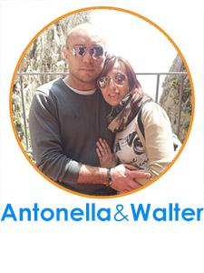 Antonella Aliberti e Walter Lambiase