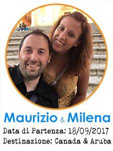 Maurizio Bonacci e Milena Cuccurullo